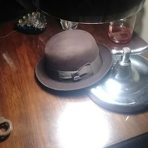 Vintage Stetson ladies Brown fedora